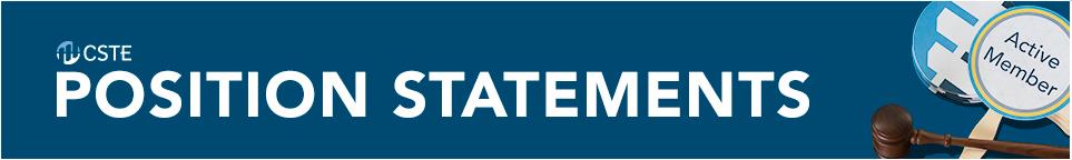 Position Statement Banner